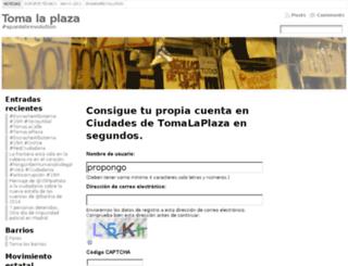 propongo.tomalaplaza.net screenshot