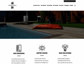 proposebois.com screenshot