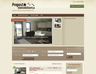 propostaimmobiliare.it screenshot