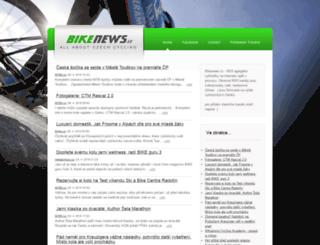 propozice.cyklovysledky.cz screenshot