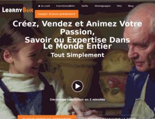 proprietaire-libre.learnybox.com screenshot