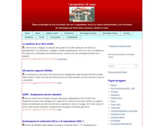 proprietaricasa.org screenshot