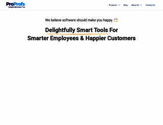 proprofs.com screenshot