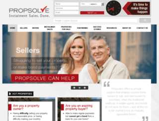 propsolve.co.za screenshot