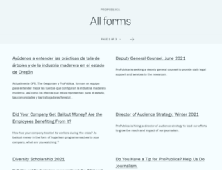 propublica.forms.fm screenshot