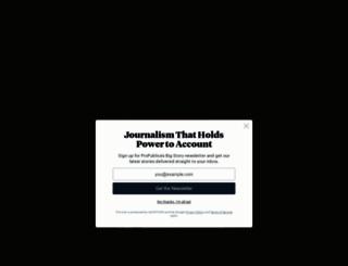 propublica.org screenshot