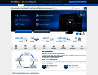 prorealtime.com screenshot