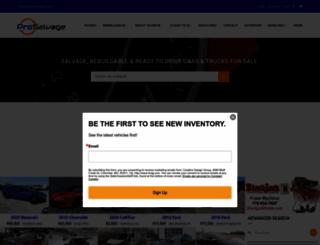 prosalvage.com screenshot