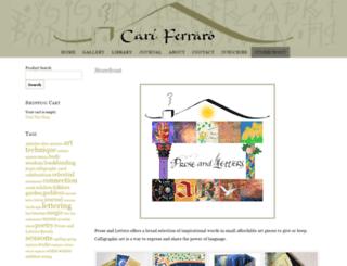 proseandletters.com screenshot