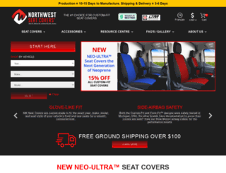proseatcovers.com screenshot