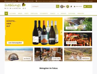 proseccoundwein.com screenshot