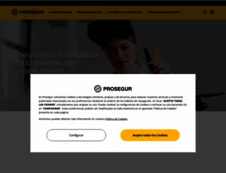 prosegur.com screenshot