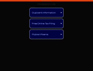 prosemania.com screenshot
