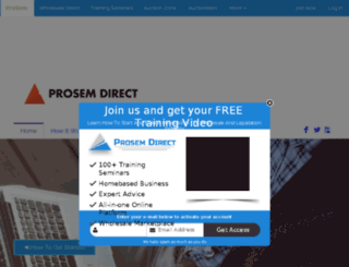 prosemdirect.com screenshot