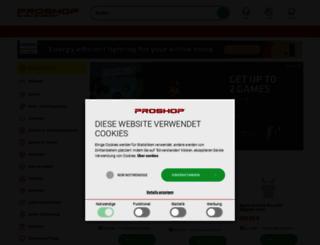 proshop.de screenshot