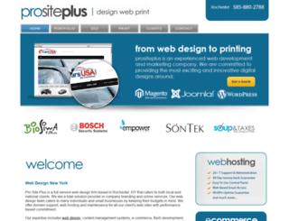 prositeplus.com screenshot