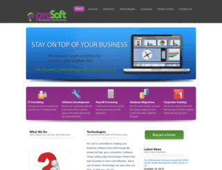 prosoftbsl.com screenshot