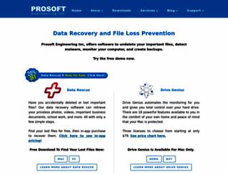 prosofteng.com screenshot