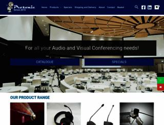 prosonic.co.za screenshot