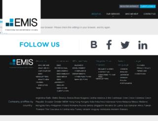 prospect-dev.emis.com screenshot