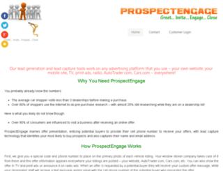 prospectcommand.net screenshot