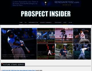 prospectinsider.com screenshot