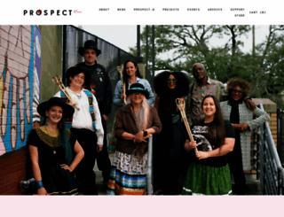 prospectneworleans.org screenshot