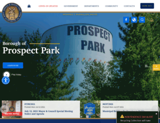 prospectpark.net screenshot