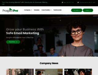 prospectpro.com screenshot