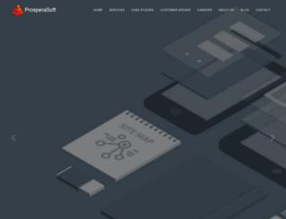 prosperasoft.com screenshot