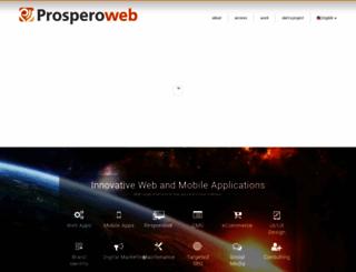prosperoweb.com screenshot