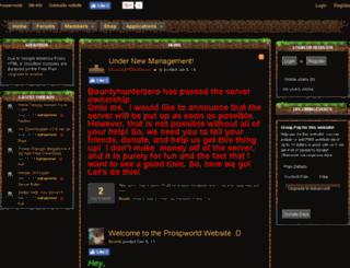 prosperworld.enjin.com screenshot