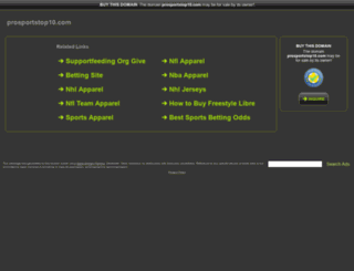 prosportstop10.com screenshot