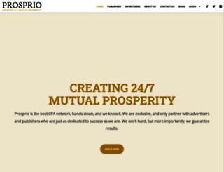 prosprio.com screenshot