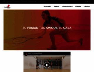 prosquashpolanco.com screenshot