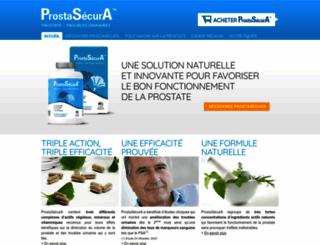 prostasecura.com screenshot