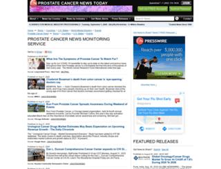 prostatecancer.einnews.com screenshot