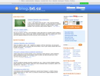 prostegang.txt.cz screenshot