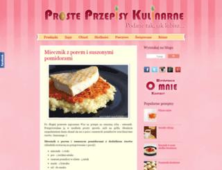 prosteprzepisykulinarne.com screenshot