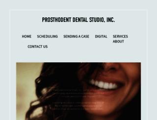prosthodent.com screenshot