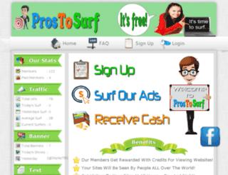prostosurf.com screenshot