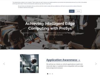 prosysis.com screenshot
