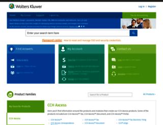prosystemfxsupport.tax.cchgroup.com screenshot