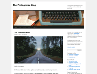 protagonize.com screenshot