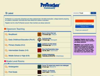 proteacher.net screenshot