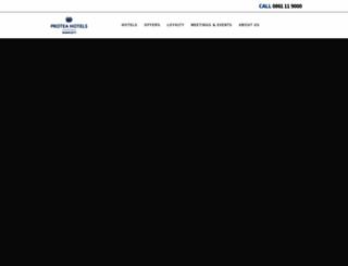 proteahotels.com screenshot