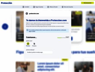 proteccion.com screenshot