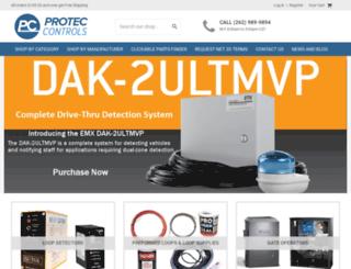 proteccontrols.com screenshot