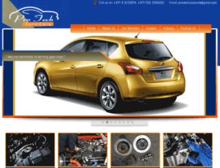 protechautocaredubai.com screenshot