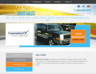 protechautosalesinc.com screenshot